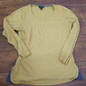 The Limited Mustard sweater